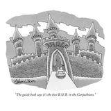 """The guide book says it's the best B.& B. in the Carpathians."" - New Yorker Cartoon Premium Giclee Print by Gahan Wilson"