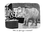 """Who can afford not to moisturize"" - New Yorker Cartoon Premium Giclee Print by Danny Shanahan"