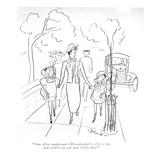 """""""Nous allons maintenant à Bloomingdale's, n'est-ce pas, pour achêter un to… Regular Giclee Print by Barbara Shermund"""