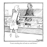 """I want something that will make me smell thinner."" - New Yorker Cartoon Reproduction procédé giclée par Matthew Diffee"