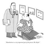 """Humiliation is a very important part of the process, Mr. Keifer."" - New Yorker Cartoon Giclee Print by Gahan Wilson"