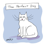 The Perfect Dog - Cartoon Regular Giclee Print by Kim Warp