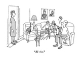 """All rise."" - New Yorker Cartoon Premium Giclee Print by George Price"