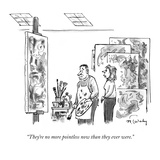 """""""They're no more pointless now than they ever were."""" - New Yorker Cartoon Premium Giclee Print by Mike Twohy"""