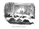 """Damn it, Abernathy, it's nap time."" - New Yorker Cartoon Premium Giclee Print by Robert Weber"