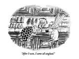 """After I won, I came all unglued."" - New Yorker Cartoon Premium Giclee Print by Victoria Roberts"