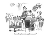 """Something from the supplement cart"" - New Yorker Cartoon Premium Giclee Print by Mike Twohy"