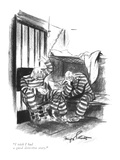 """I wish I had a good detective story."" - New Yorker Cartoon Premium Giclee Print by Kemp Starrett"