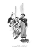 """I want a perfume that will help me recall the boulevards."" - New Yorker Cartoon Premium Giclee Print by Helen E. Hokinson"