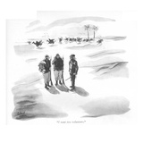 """I want two volunteers."" - New Yorker Cartoon Premium Giclee Print by Richard Decker"