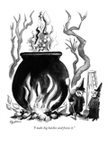 """I make big batches and freeze it."" - New Yorker Cartoon Premium Giclee Print by Eldon Dedini"