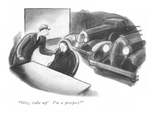 """Hey, wake up! I'm a prospect!"" - New Yorker Cartoon Premium Giclee Print by Carl Rose"