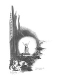 """""""Here comes the part I like!"""" - New Yorker Cartoon Premium Giclee Print by E. Simms Campbell"""