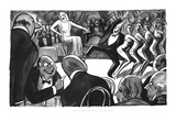 """J. G.'s a card all right when he gets to New York."" - New Yorker Cartoon Premium Giclee Print by Peter Arno"