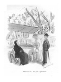 """Pardon me. Are you a grisette"" - New Yorker Cartoon Premium Giclee Print by Helen E. Hokinson"