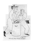 &quot;M-m-m, Ybry&#39;s Femme de Paris.&quot; - New Yorker Cartoon Premium Giclee Print by Augustus Peck