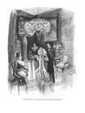 """But Mother, it's really just a nice family speakeasy."" - New Yorker Cartoon Premium Giclee Print by Barbara Shermund"