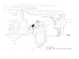 """Yes dear, I see him. But I can't find Times Square."" - New Yorker Cartoon Premium Giclee Print by Unknown Alain"