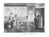 """But I thought I had another, an older one."" - New Yorker Cartoon Premium Giclee Print by Richard Taylor"