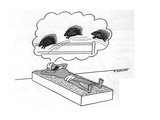 Turbaned man lays on a bed of nails counting porcupines. - New Yorker Cartoon Premium Giclee Print by Otto Soglow