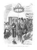 """Heave you noticed a very festive table of Bryn Mawr alumnae"" - New Yorker Cartoon Giclee Print by Helen E. Hokinson"