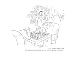 """Old Man Connelly has been having considerable success with his ambush def…"" - New Yorker Cartoon Premium Giclee Print by  Alain"