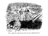 """This is nothing.  You should have been with us last year at Fifty-third a…"" - New Yorker Cartoon Premium Giclee Print by Barney Tobey"