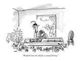 """Beuford was too old for a sexual frenzy."" - New Yorker Cartoon Premium Giclee Print by George Booth"