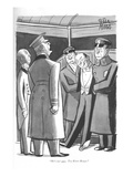 """He's not ours. Try River House."" - New Yorker Cartoon Premium Giclee Print by Peter Arno"