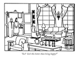 """See  Isn't this better than being happy"" - New Yorker Cartoon Premium Giclee Print by Bruce Eric Kaplan"