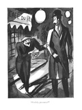 """Feelthy peectures"" - New Yorker Cartoon Premium Giclee Print by Peter Arno"