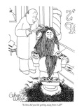 """So how did you like getting away from it all"" - New Yorker Cartoon Premium Giclee Print by Gahan Wilson"