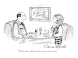 """We've learned so much from each other that you remind me of me."" - New Yorker Cartoon Premium Giclee Print by Victoria Roberts"