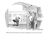 """With the Suzuki method, they start them campaigning as early as three or …"" - New Yorker Cartoon Premium Giclee Print by Mike Twohy"