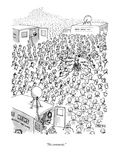 """No comment."" - New Yorker Cartoon Premium Giclee Print by Jack Ziegler"