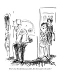 """Ever since his identity was stolen, he's been easier to be with."" - New Yorker Cartoon Premium Giclee Print by Robert Weber"