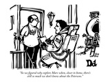 """So we figured why explore Mars when, closer to home, there's still so muc…"" - New Yorker Cartoon Premium Giclee Print by Drew Dernavich"