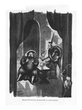 Henry VIII discloses his dream life to a psychoanalyst - New Yorker Cartoon Premium Giclee Print by Peter Arno