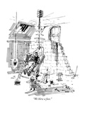 """We blew a fuse."" - New Yorker Cartoon Premium Giclee Print by George Booth"