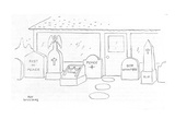Headstones, one of which says &#39;Boy Wanted.&#39; - New Yorker Cartoon Premium Giclee Print by Roy Williams