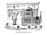 """The bailiff will change the venue."" - New Yorker Cartoon Premium Giclee Print by Mike Twohy"