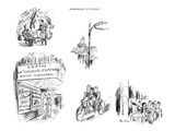 Montage of soldiers in France. - New Yorker Cartoon Regular Giclee Print by Alan Dunn