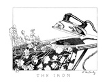 The Iron - New Yorker Cartoon Premium Giclee Print by Ann McCarthy