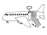Sardine can plane. - New Yorker Cartoon Premium Giclee Print by Ariel Molvig
