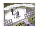 Wedding reception - Cartoon Regular Giclee Print by John O'brien