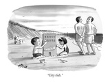 """City kids."" - New Yorker Cartoon Premium Giclee Print by Harry Bliss"