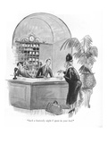"""Such a heavenly night I spent in your bed."" - New Yorker Cartoon Premium Giclee Print by Barbara Shermund"