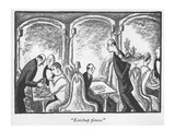 """Ketchup please."" - New Yorker Cartoon Premium Giclee Print by Peter Arno"