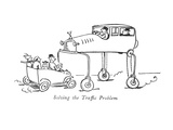 Solving the Traffic Problem - New Yorker Cartoon Premium Giclee Print by Alfred Frueh