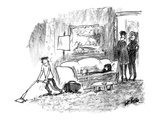 """Michael takes after me, while Nicole takes after her dad."" - New Yorker Cartoon Premium Giclee Print by Robert Weber"